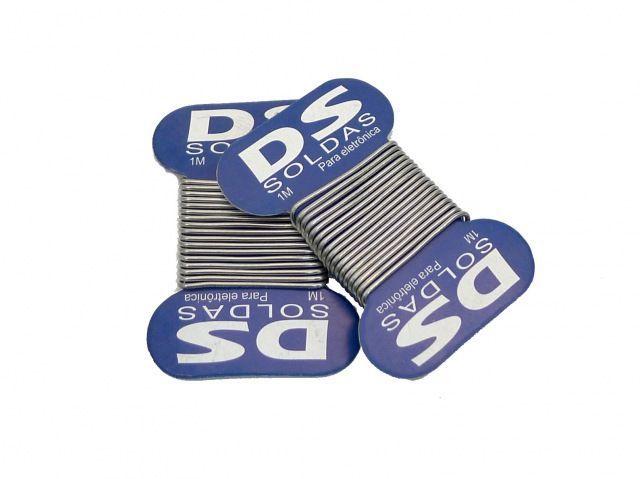Cartela de Solda em Fio Dupla 189MSX10 SN60XPB40 15g  - MRE Ferramentas