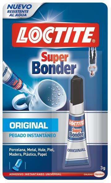 Cola Super Bonder 3g  - MRE Ferramentas