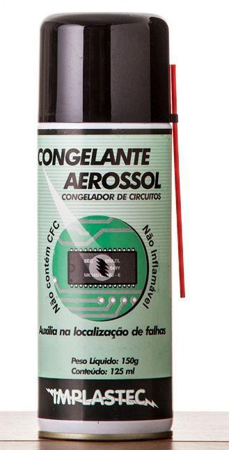 Congelante Aerosol Implastec 120ml  - MRE Ferramentas