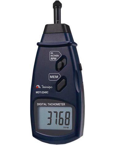Tacômetro Digital Minipa MDT-2245C  - MRE Ferramentas