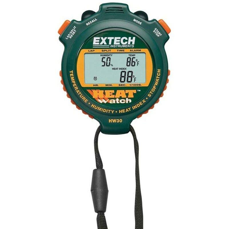 Cronômetro Umidade Temperatura HeatWatch ™ Extech HW30  - MRE Ferramentas