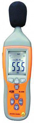 Decibelímetro Digital (DATALOGGER) Icel DL-4200  - MRE Ferramentas