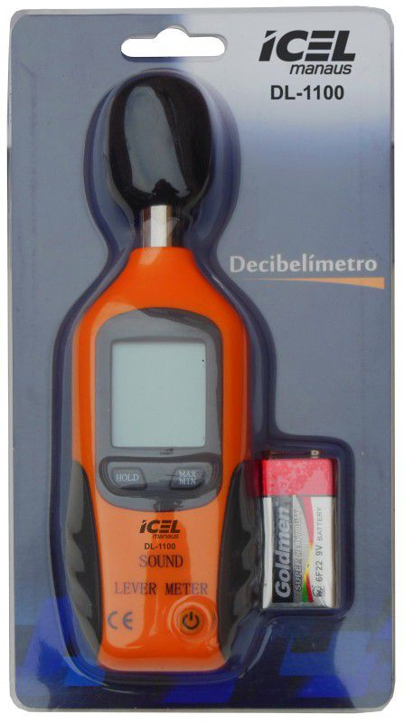 Decibelímetro digital Icel DL-1100  - MRE Ferramentas