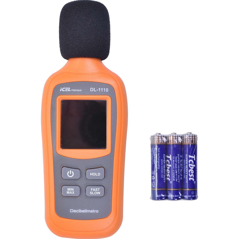 Decibelímetro digital Icel DL-1110  - MRE Ferramentas