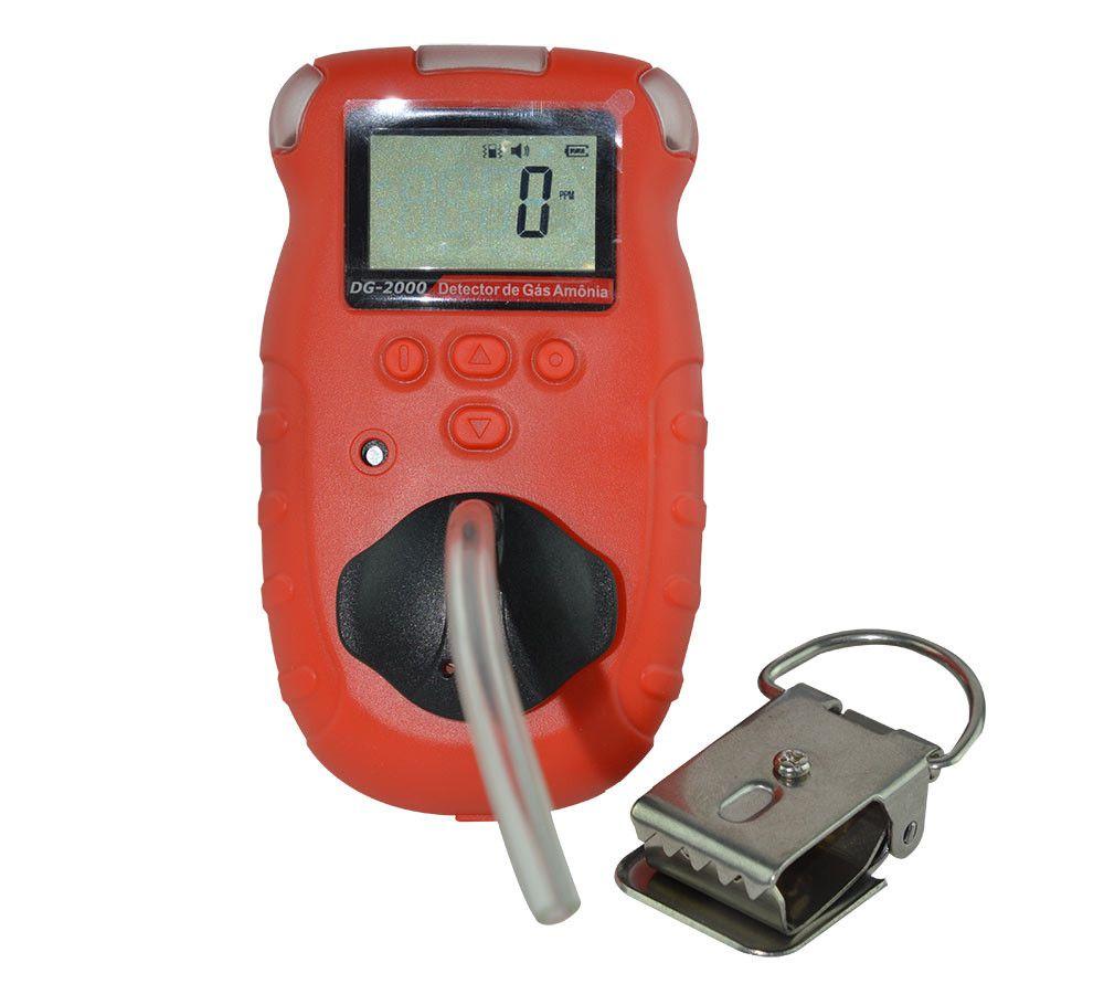 Detector de Amônia Digital Portátil 4 A 100PPM com Armazenamento de Dados Instrutherm DG-200  - MRE Ferramentas