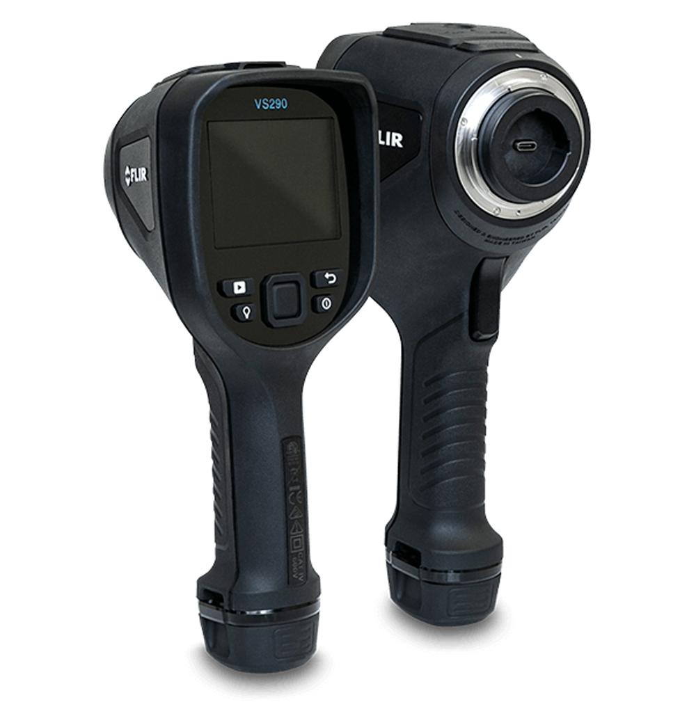 Display do Boroscópio e Bateria VS290 Series VS290-00  - MRE Ferramentas