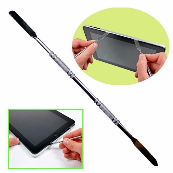 Espátula Aço Inox Dupla para Abrir Celular Tablet  - MRE Ferramentas