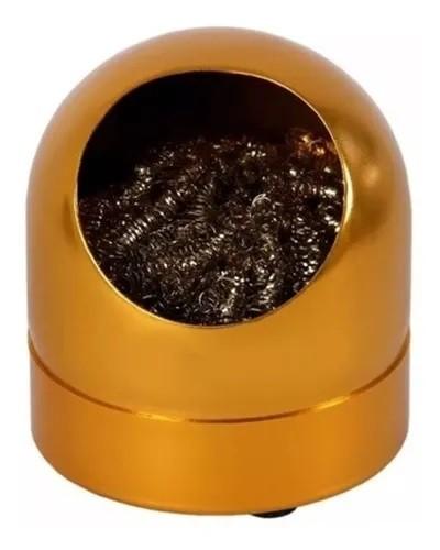Esponja Metálica com Suporte   - MRE Ferramentas