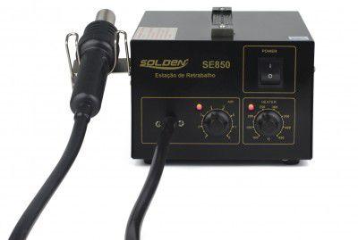 Estação de Retrabalho em SMD analógica Toyo Solden SE-850  - MRE Ferramentas