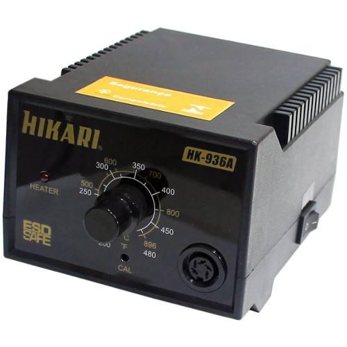 Estação de Solda Analógica ESD Hikari HK-936A  - MRE Ferramentas