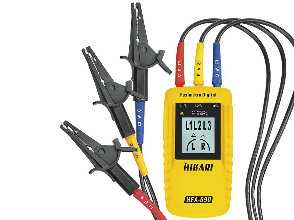 Fasímetro Hikari HFA-690  - MRE Ferramentas