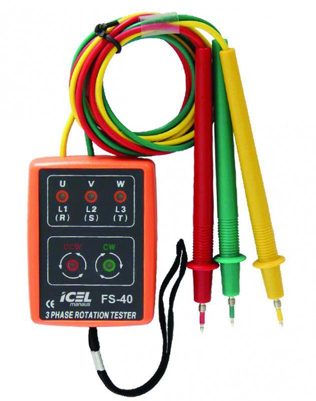 Fasímetro Icel FS-40  - MRE Ferramentas