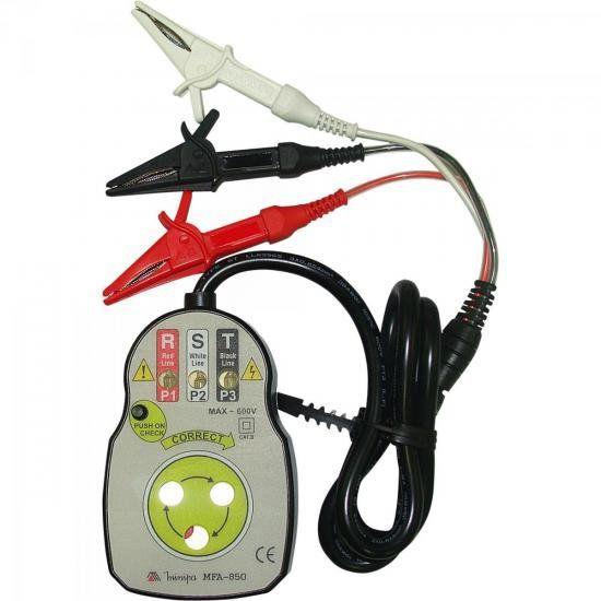 Fasímetro Minipa MFA-850  - MRE Ferramentas