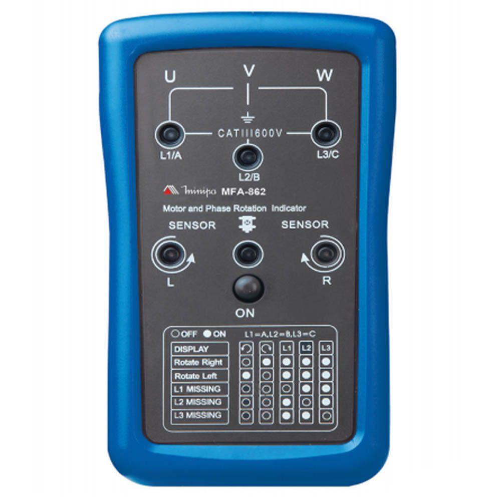 Fasímetro Minipa MFA-862  - MRE Ferramentas