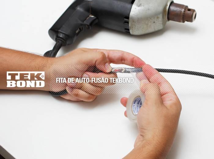 Fita Auto Fusão Tekbond 25MM x 1M   - MRE Ferramentas