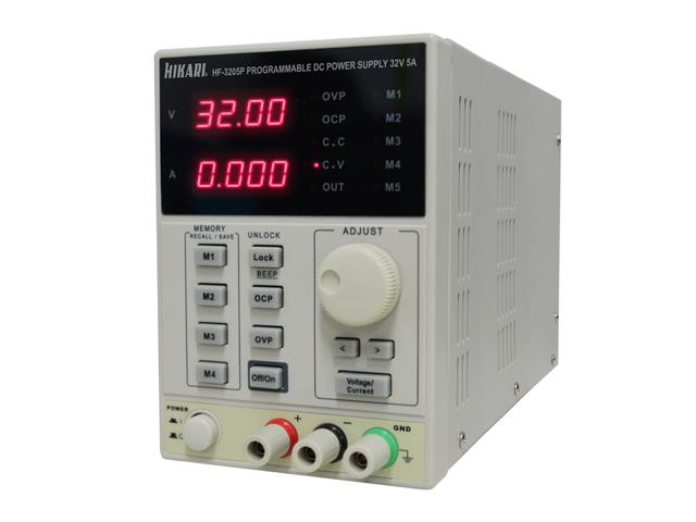 Fonte de Alimentação Programável Hikari HF-3205P  - MRE Ferramentas