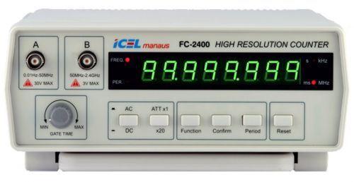 Frequencímetro Digital 2.4Ghz Icel FC-2400  - MRE Ferramentas