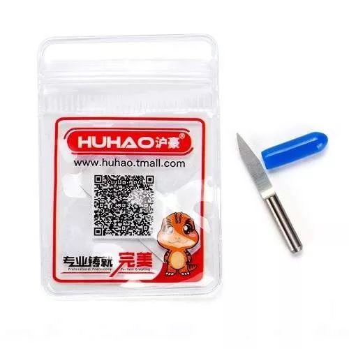 Fresa 1/8 V Carving Metal Duro P/ Cnc Router 20°x0,1mm  - MRE Ferramentas