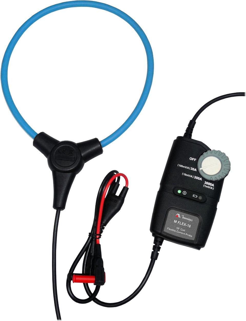 """Garra de Corrente Flexível 3000A/18"""" p/ Alicate ou Multimetro Minipa MFLEX-18  - MRE Ferramentas"""