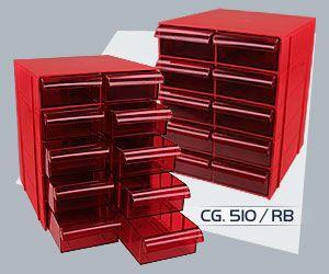 Gaveteiro Multi-Uso Magus CG-510RB  - MRE Ferramentas