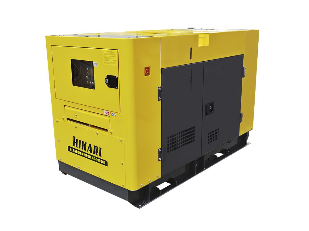Gerador de Energia a Diesel Monofásico 10kW Hikari HG-10000D  - MRE Ferramentas