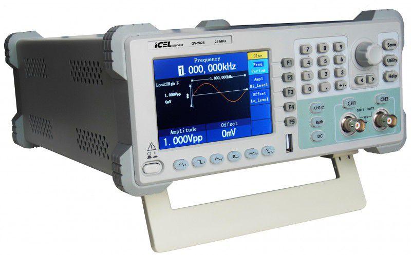 Gerador de Função 25Mhz Icel GV-2025  - MRE Ferramentas