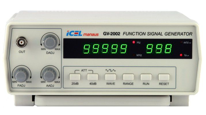 Gerador de Função 2Mhz Icel GV-2002  - MRE Ferramentas