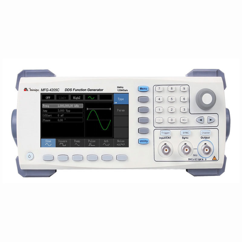 Gerador de Função 5Mhz Minipa MFG-4205C  - MRE Ferramentas