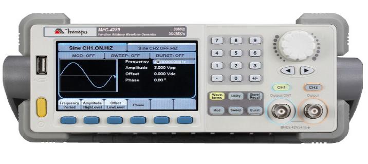 Gerador de Funções Ondas Arbitrárias 80MHz USB Minipa MFG-4280  - MRE Ferramentas