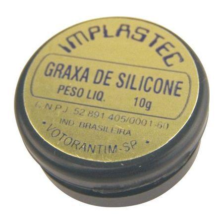 Graxa de Silicone Implastec  - MRE Ferramentas