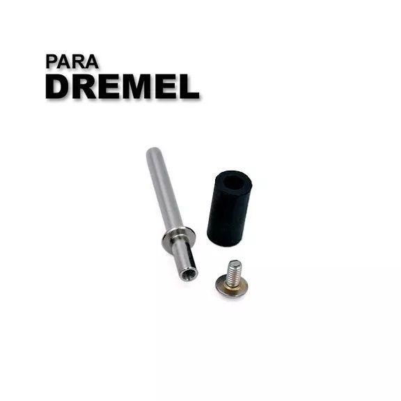 Haste Adaptador Lixa Tubo 1/4 Micro Retifica Dremel 407  - MRE Ferramentas