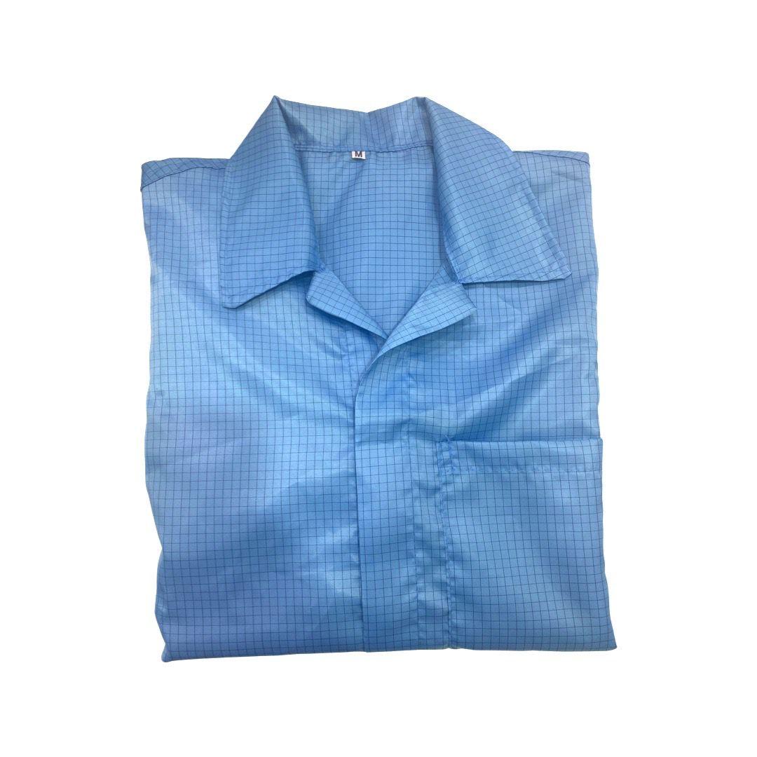 Jaleco Anti-Estático Azul Céu  - MRE Ferramentas