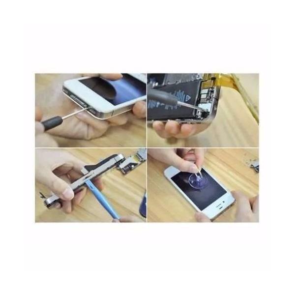 Kit 10 Ferramentas Alicate Ventosa Espátulas E Chaves P/Abrir Iphone  - MRE Ferramentas