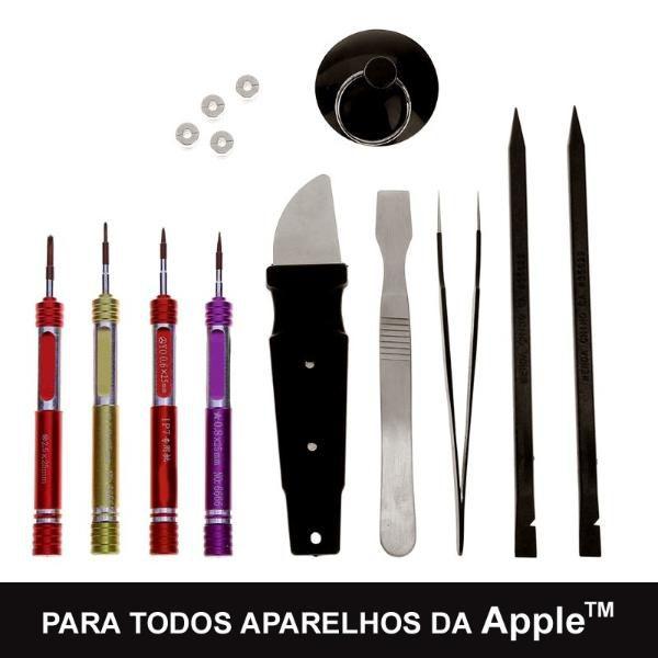Kit 15 Ferramentas Pinça Espátula P/ Abrir Todos Iphones  - MRE Ferramentas