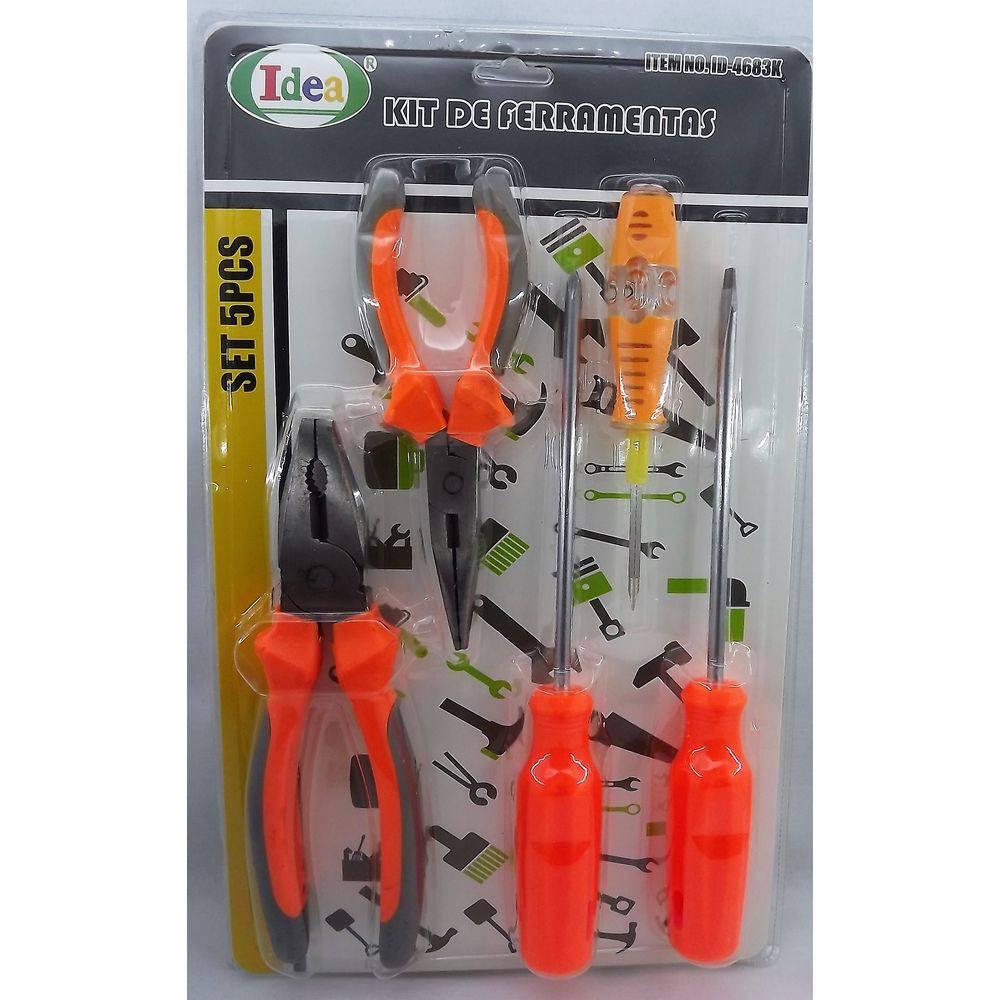 Kit de Ferramentas 5 Peças Idea 4683K  - MRE Ferramentas