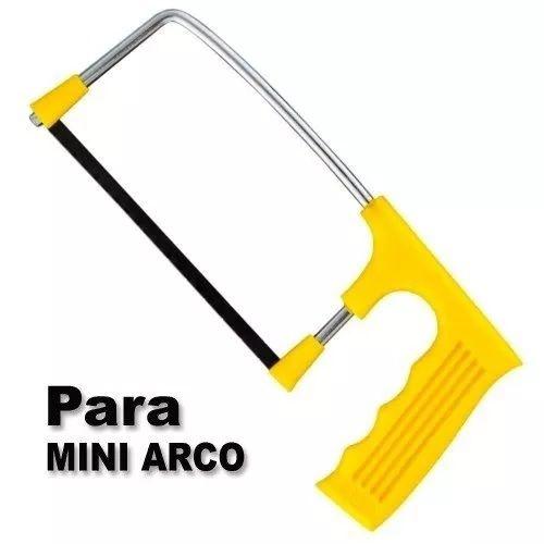 Kit De Lâminas P/ Mini Arco De Serra Tico Tico C/10 Peças  - MRE Ferramentas