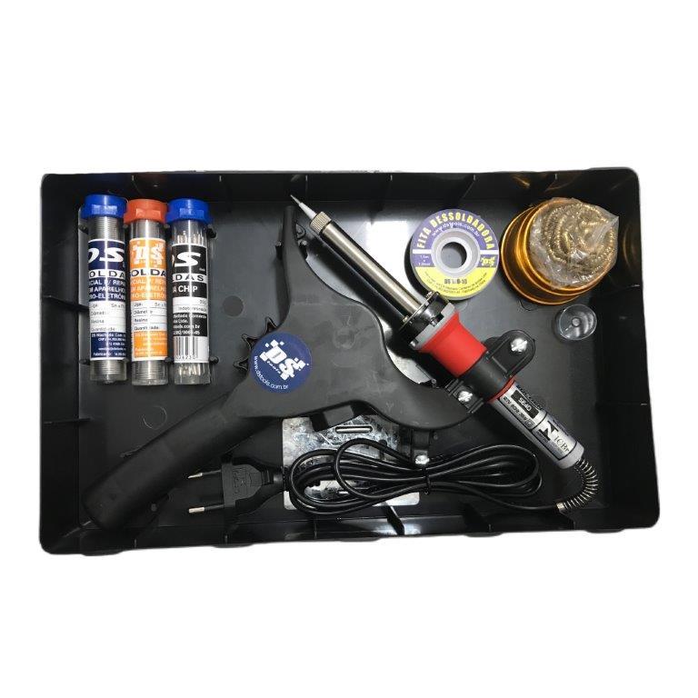 Kit de Soldagem DS-Tools DS-01  - MRE Ferramentas