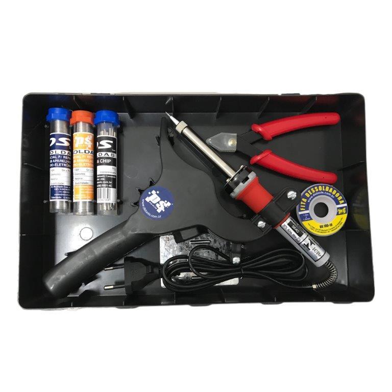 Kit de Soldagem DS-Tools DS-02  - MRE Ferramentas