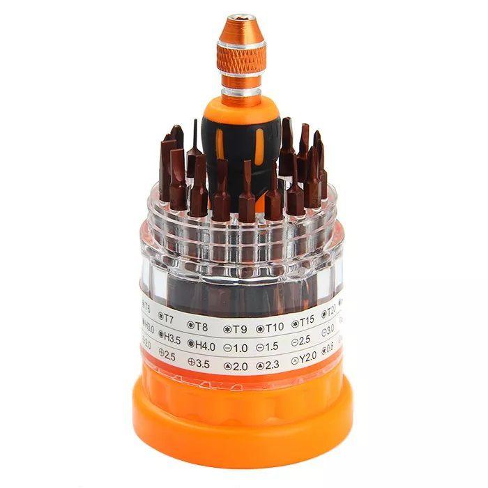 Kit Ferramentas Multifuncional 37 EM 1 Profissional Jakemy JM-8117  - MRE Ferramentas