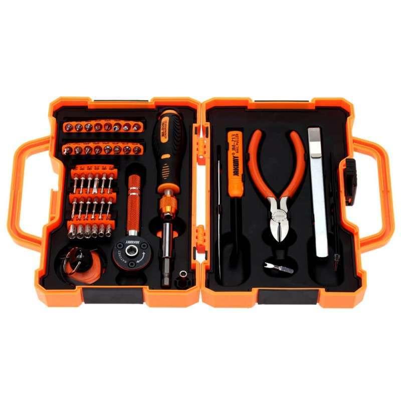 Kit Ferramentas Multifuncional 47 Peças Profissional Jakemy Jm-8146 (Caixa - Com 10 Kits)  - MRE Ferramentas