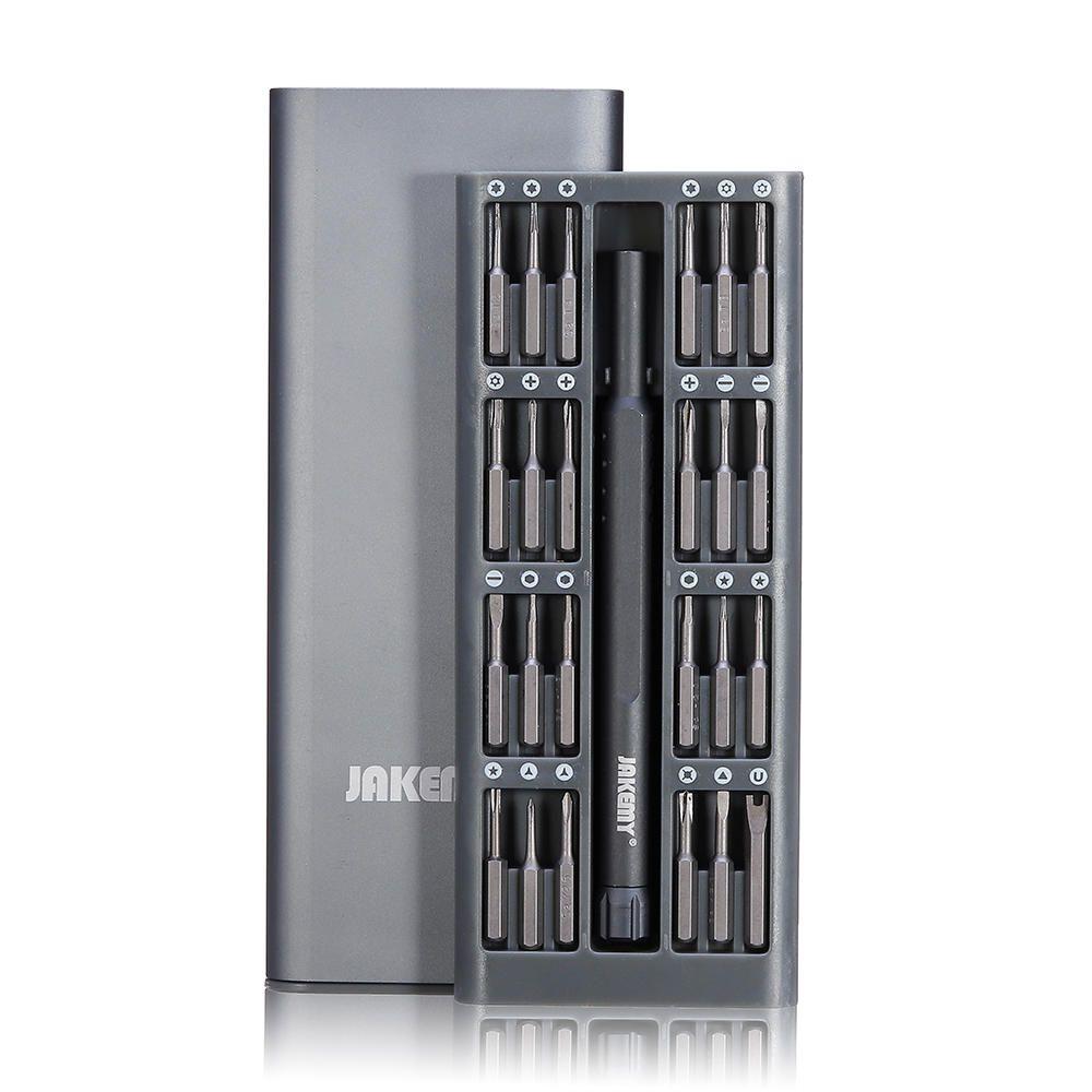 Kit Ferramentas Precisão 24 Bits Profissional Jakemy JM-8168  - MRE Ferramentas