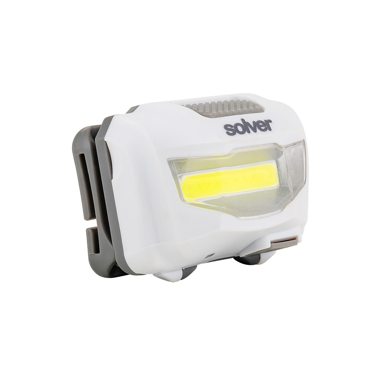 Lanterna de Cabeça Recarregável LED COB Solver SLP-11  - MRE Ferramentas
