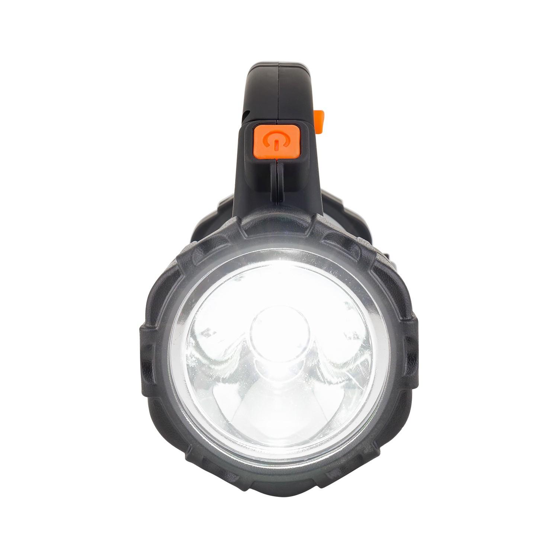 Lanterna Holofote Pro Recarregável LED Cree Solver SLP-401  - MRE Ferramentas