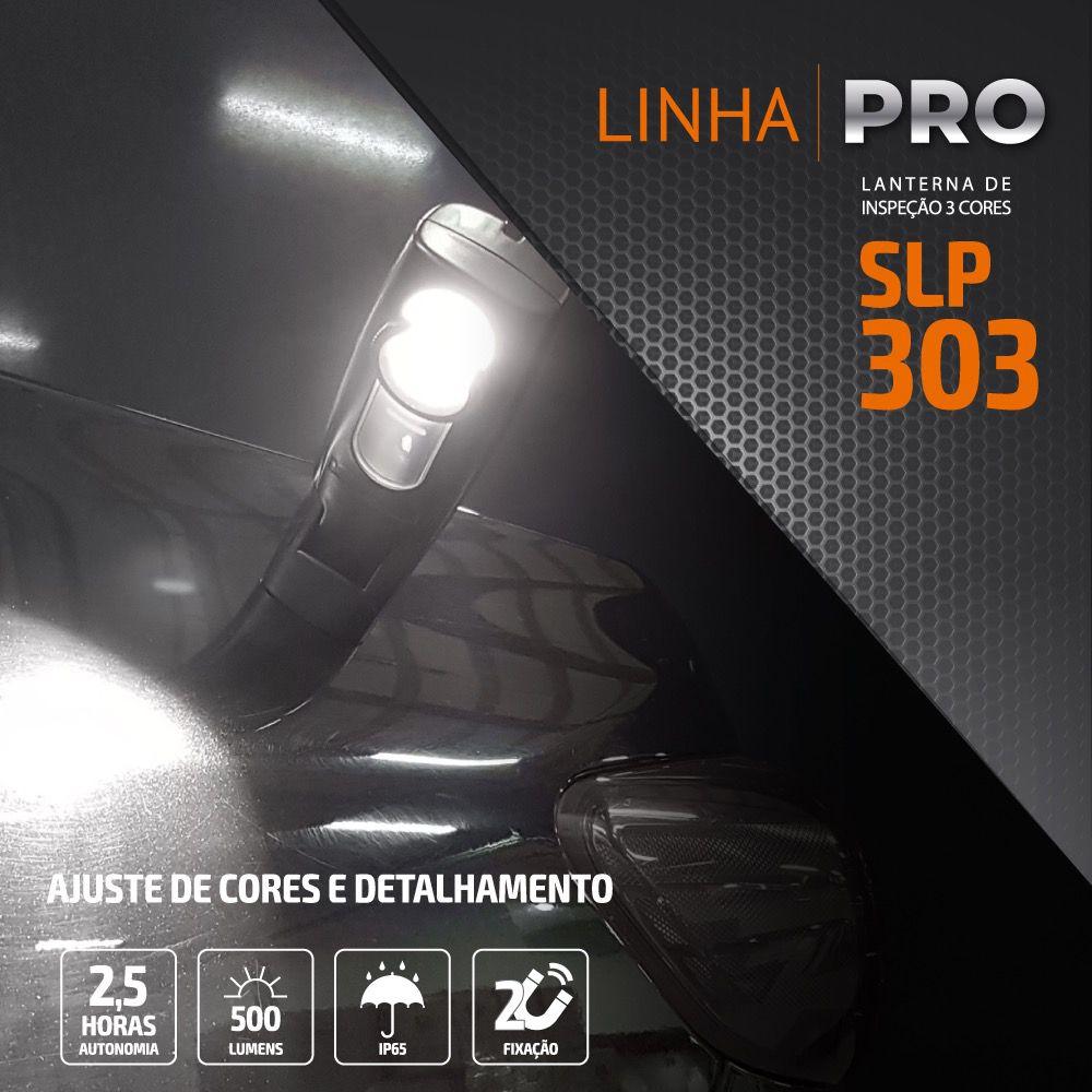 Lanterna LED de Inspeção 3 Temperaturas Solver SLP-303   - MRE Ferramentas