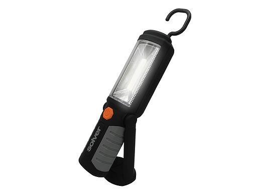 Lanterna Pro LED COB Recarregável Solver SLP-302  - MRE Ferramentas
