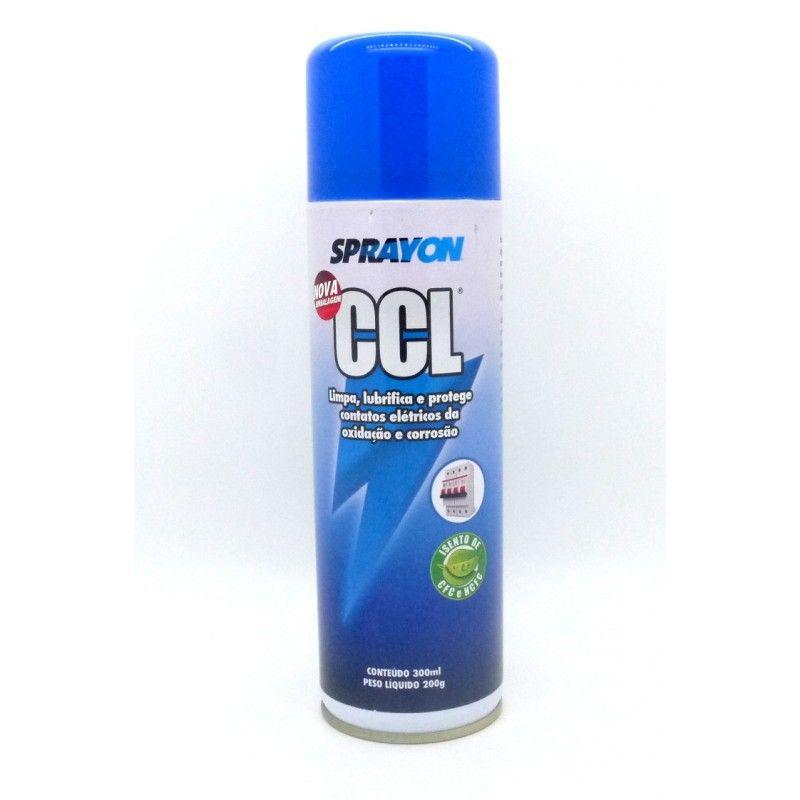 Limpa Contato CCL 300ml Sprayon  - MRE Ferramentas