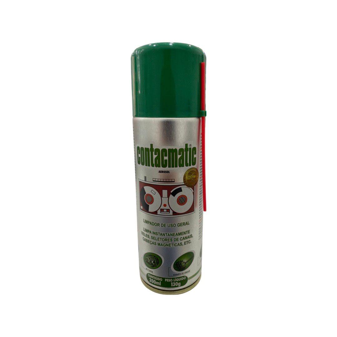 Limpa Contato Spray Chemitron Contacmatic 200ml  - MRE Ferramentas