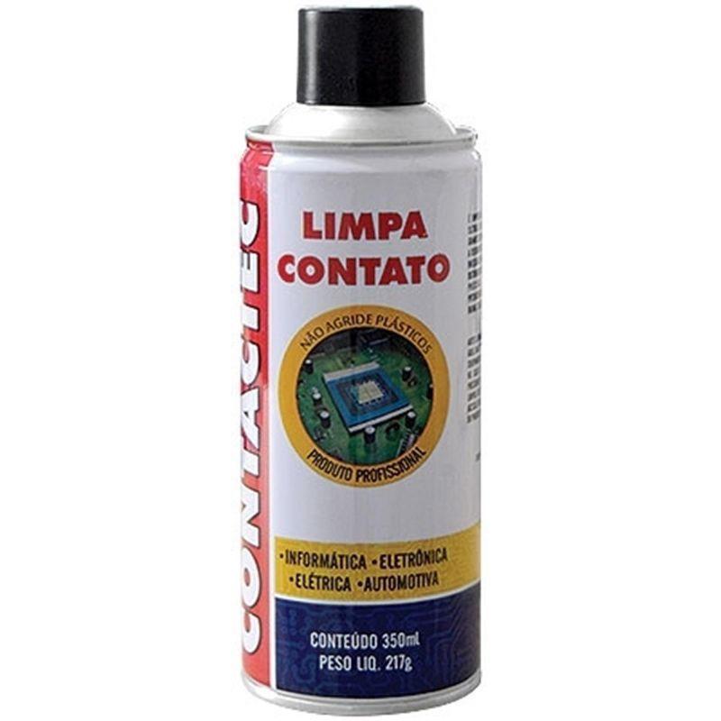 Limpa Contato Spray Contactec Implastec 350ml  - MRE Ferramentas