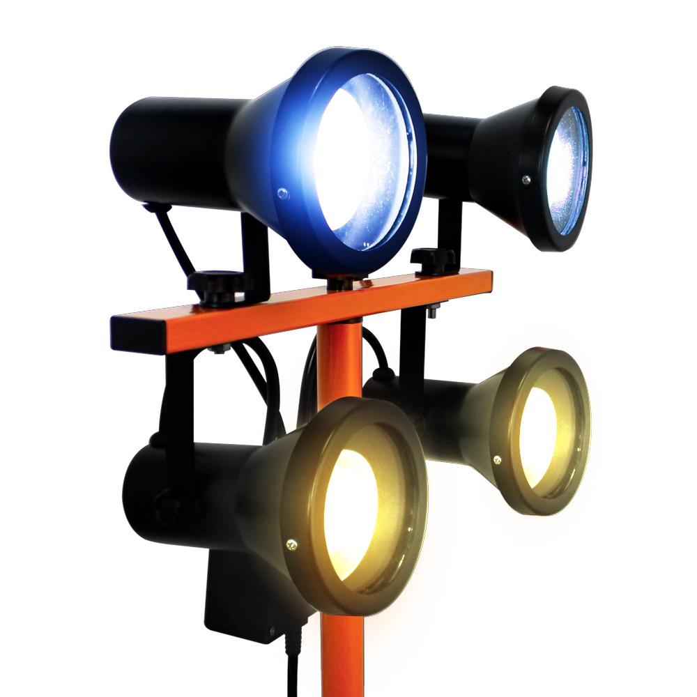 Luminária Dual Color com Tripé 1,35M Solver SLP-801  - MRE Ferramentas