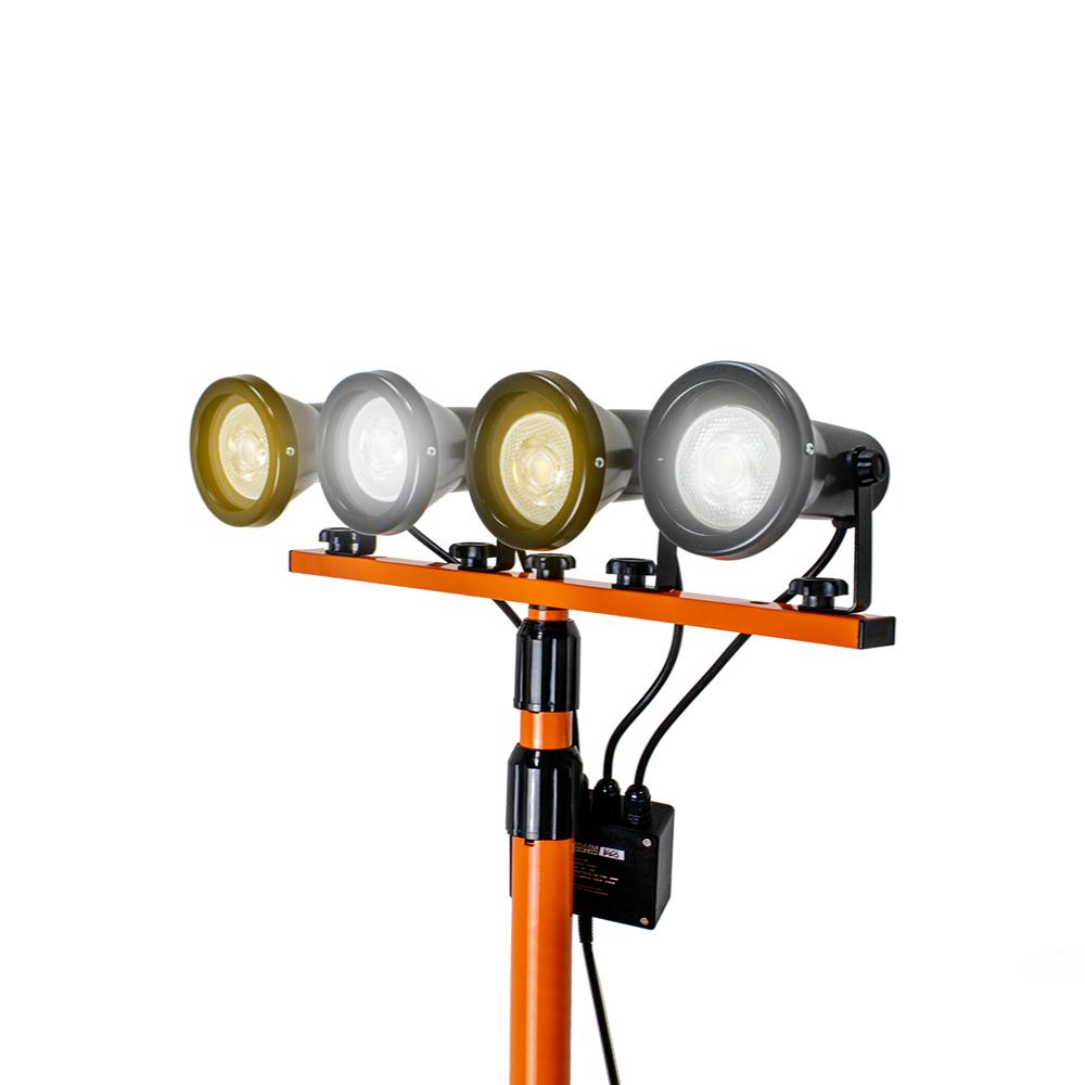 Luminária Dual Color com Tripé 2,33M Solver SLP-802  - MRE Ferramentas